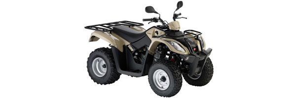 kymco mxu 150cc quad atv for rent in paros quad atv. Black Bedroom Furniture Sets. Home Design Ideas